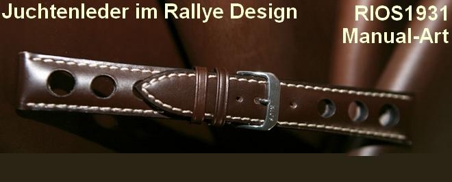 RIOS1931 Rallye-Uhrenarmbänder