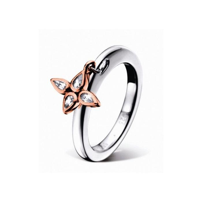 JOOP! Ring Silber-rosčgold Gr. 56-58/18,2 JJ0835