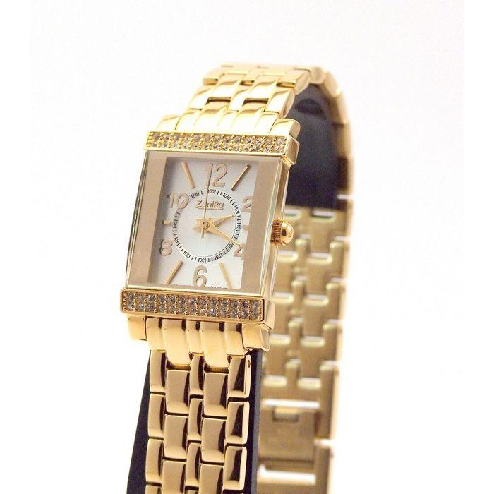 ZentRa Damenuhr Z13155G mit Swarovski Kristalle