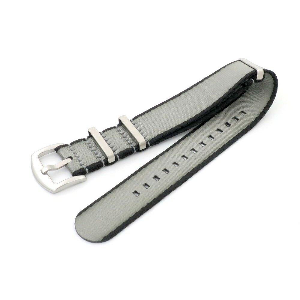 GEO-Straps Nato Nylon Uhrenarmband Modell Nitro schwarz-gelb 20 mm