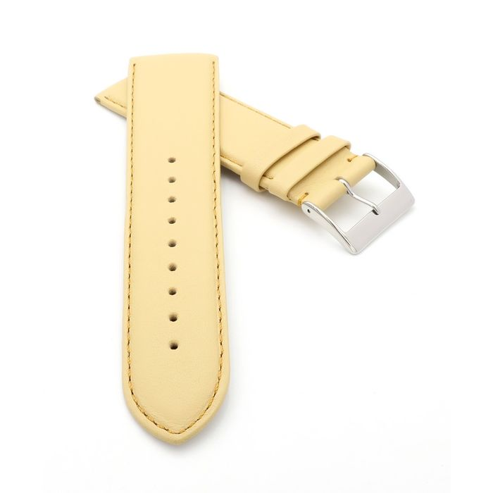 Eulit Teju-Eidechse Uhrenarmband XL-extralang Modell Tango cognac 20 mm