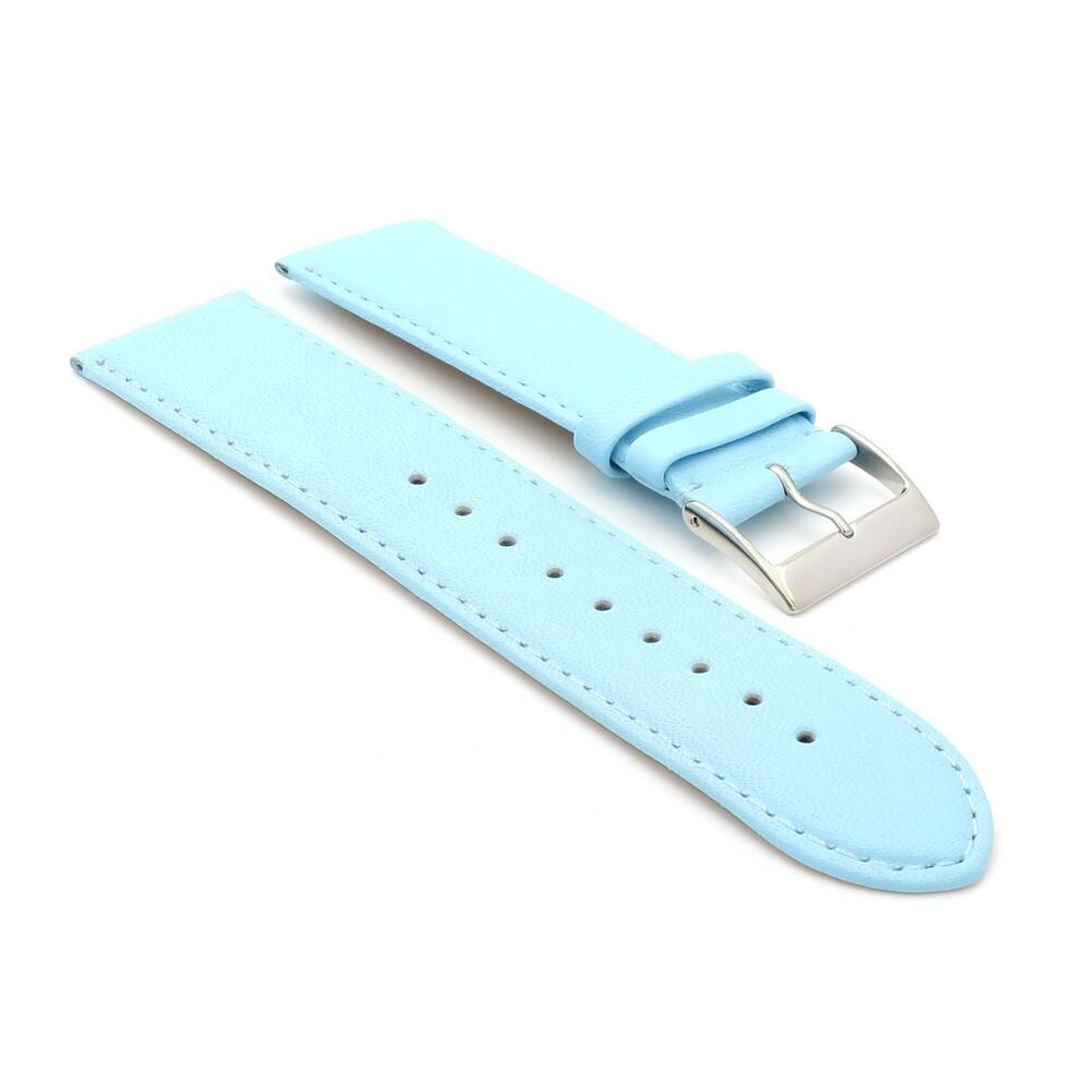 Uhrenarmband Jungkalb Modell Chur königs-blau 12 mm