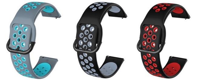 Samsung Galaxy Silikon Ersatz-Uhrenarmband